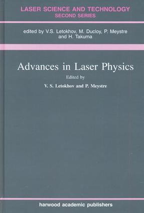 Advances In Laser Physics: 1st Edition (e-Book) book cover