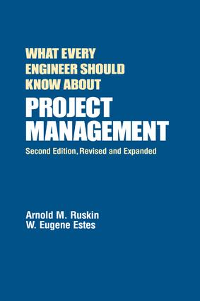 What Every Engineer Should Know About Project Management: 2nd Edition (e-Book) book cover