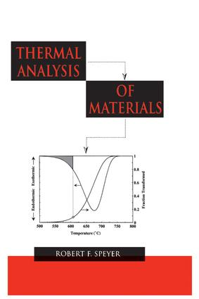 Thermal Analysis of Materials book cover