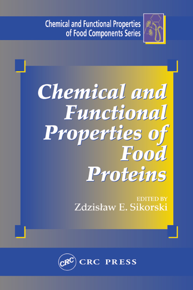 Chemical and Functional Properties of Food Proteins: 1st Edition (Hardback) book cover