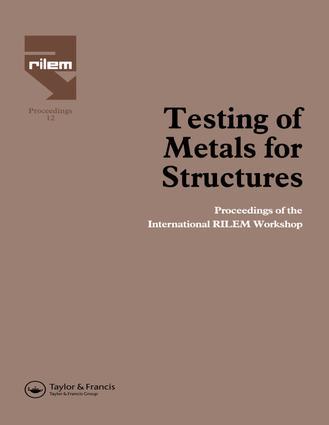 Italian codes on fatigue testing