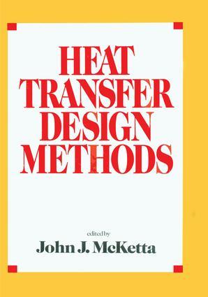 Heat Transfer Design Methods: 1st Edition (e-Book) book cover