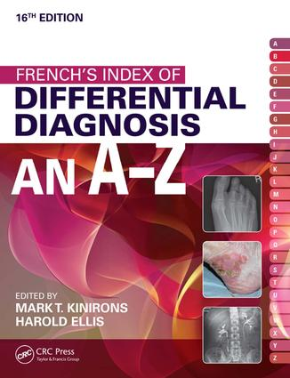 French's Index of Differential Diagnosis An A-Z 1: 16th Edition (e-Book) book cover