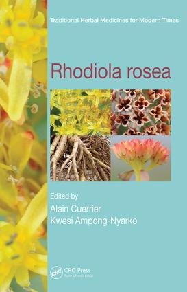 Rhodiola rosea: 1st Edition (e-Book) book cover