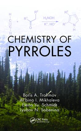 Chemistry of Pyrroles: 1st Edition (e-Book) book cover