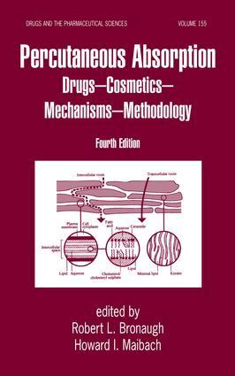 Percutaneous Absorption: Drugs, Cosmetics, Mechanisms, Methods, 4th Edition (Hardback) book cover