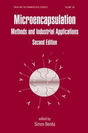 Microencapsulation: Methods and Industrial Applications, Second Edition, 2nd Edition (Hardback) book cover