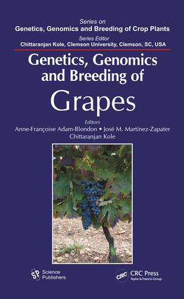 Genetics, Genomics, and Breeding of Grapes: 1st Edition (e-Book) book cover