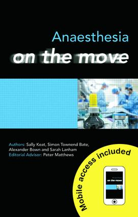 Anaesthesia on the Move: 1st Edition (e-Book) book cover