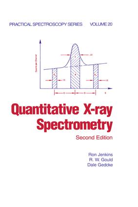 Quantitative X-Ray Spectrometry: 2nd Edition (Hardback) book cover