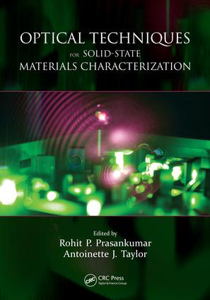 Optical Techniques for Solid-State Materials Characterization: 1st Edition (e-Book) book cover