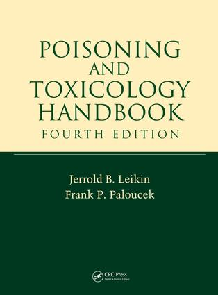 Poisoning and Toxicology Handbook: 4th Edition (e-Book) book cover