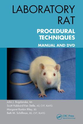 Laboratory Rat Procedural Techniques: Manual and DVD, 1st Edition (e-Book) book cover