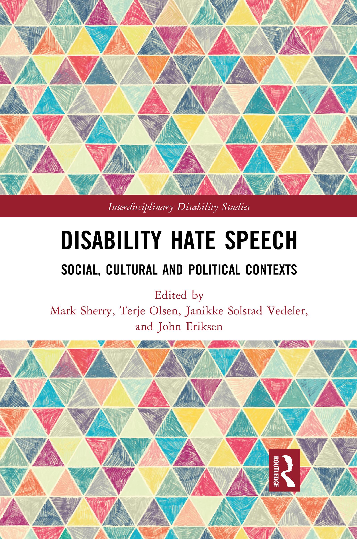 Disability Hate Speech