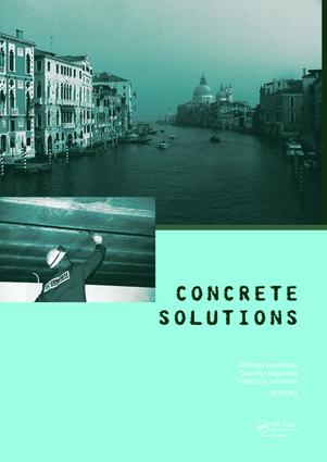 """Performance of """"waterless concrete"""""""