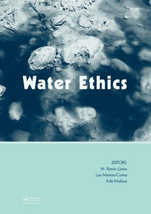 Water Ethics: Marcelino Botin Water Forum 2007, 1st Edition (e-Book) book cover