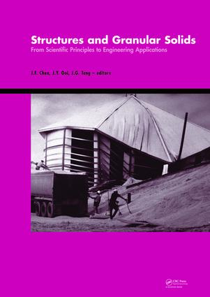 Structures and Granular Solids: From Scientific Principles to Engineering Application, 1st Edition (e-Book) book cover