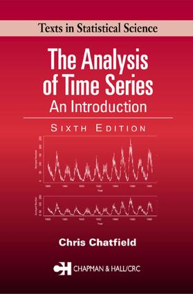 The Analysis of Time Series: An Introduction, Sixth Edition, 6th Edition (e-Book) book cover