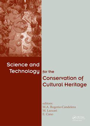 Science and Technology for the Conservation of Cultural Heritage: 1st Edition (e-Book) book cover