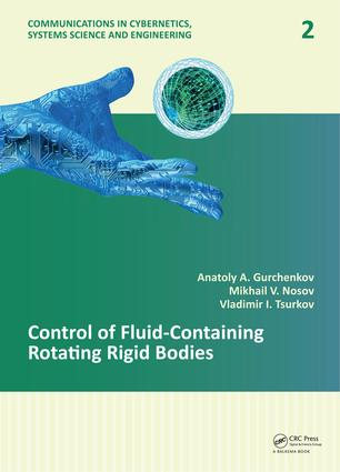 Control of Fluid-Containing Rotating Rigid Bodies