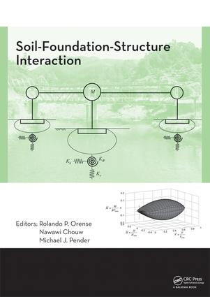 Soil-Foundation-Structure Interaction: 1st Edition (e-Book) book cover
