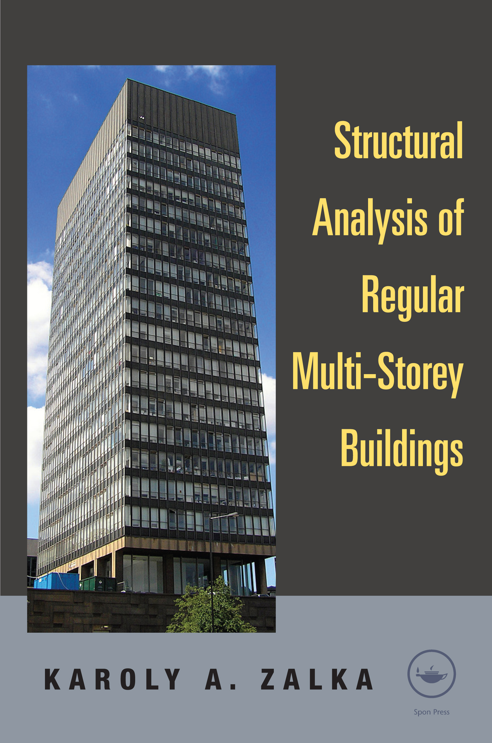 Structural Analysis of Regular Multi-Storey Buildings: 1st Edition (e-Book) book cover