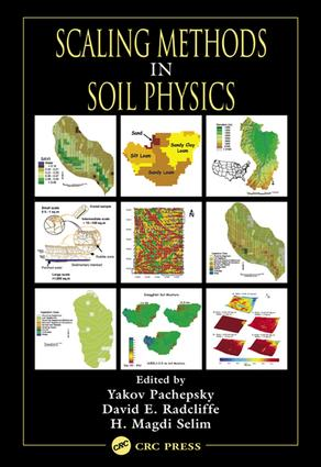 Scaling Methods in Soil Physics: 1st Edition (e-Book) book cover