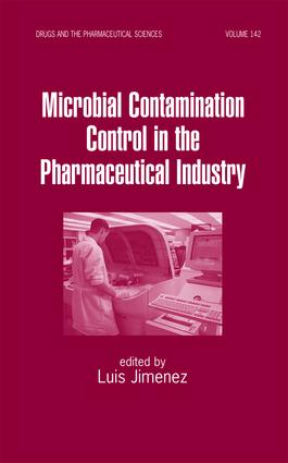 Microbial Contamination Control in the Pharmaceutical Industry: 1st Edition (Hardback) book cover