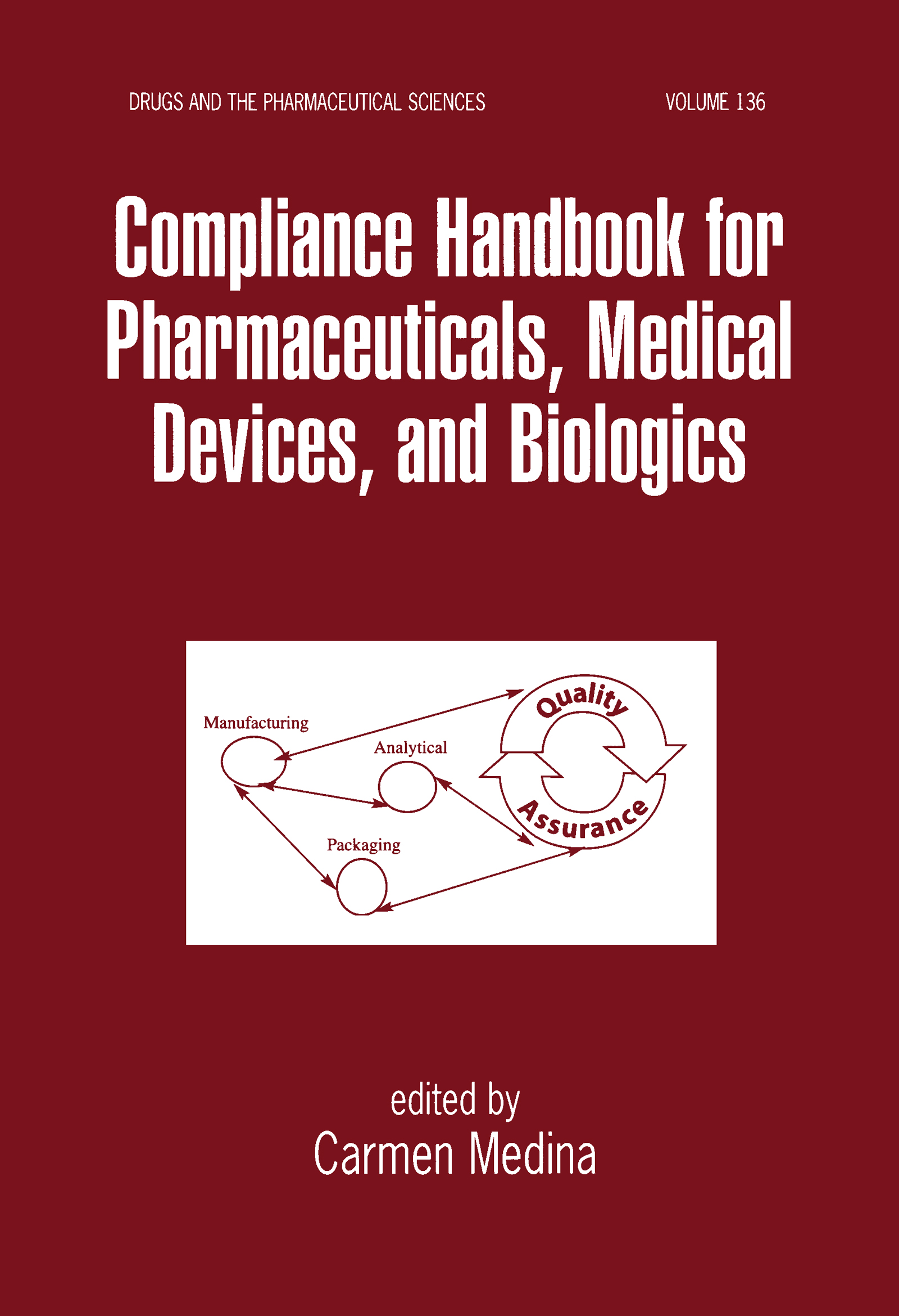 Compliance Handbook for Pharmaceuticals, Medical Devices, and Biologics: 1st Edition (e-Book) book cover