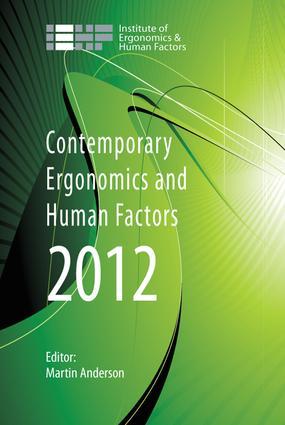 Contemporary Ergonomics and Human Factors 2012