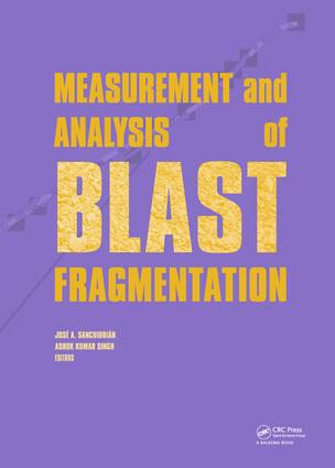 Measurement and Analysis of Blast Fragmentation: 1st Edition (e-Book) book cover