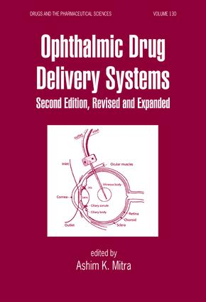 Ophthalmic Drug Delivery Systems: 2nd Edition (Hardback) book cover