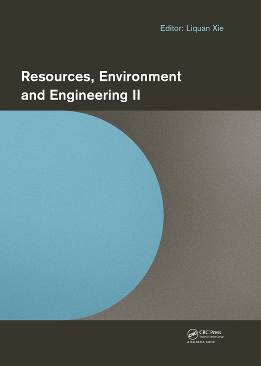 Resources, Environment and Engineering II: Proceedings of the 2nd Technical Congress on Resources, Environment and Engineering (CREE 2015, Hong Kong, 25-26 September 2015), 1st Edition (e-Book) book cover