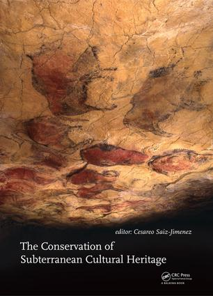 The Conservation of Subterranean Cultural Heritage book cover