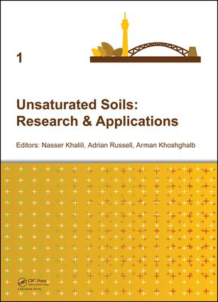 Unsaturated Soils: Research & Applications: 1st Edition (e-Book) book cover