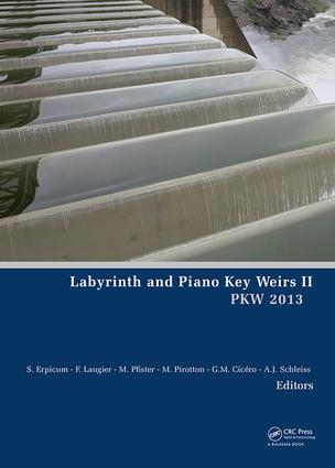 Labyrinth and Piano Key Weirs II: 1st Edition (e-Book) book cover