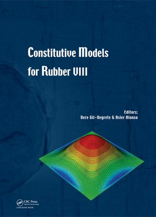 Constitutive Models for Rubber VIII: 1st Edition (e-Book) book cover