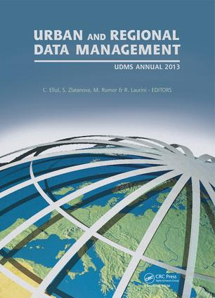 Urban and Regional Data Management: UDMS Annual 2013 book cover