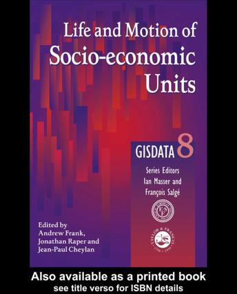 Modelling Changes and Events in Dynamic Spatial Systems with Reference to Socio-Economic Units