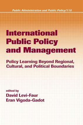 International Public Policy and Management: 1st Edition (e-Book) book cover
