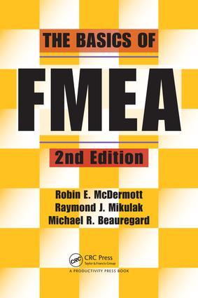 The Basics of FMEA: 2nd Edition (e-Book) book cover
