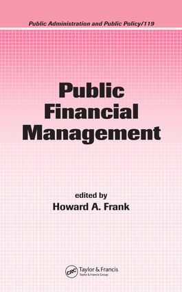 Public Financial Management: 1st Edition (e-Book) book cover