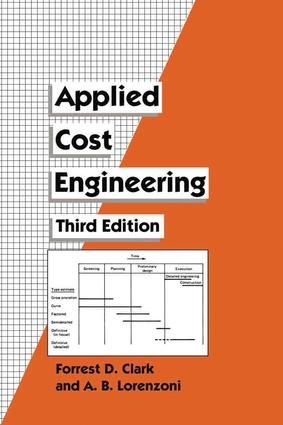Applied Cost Engineering: 3rd Edition (Hardback) book cover