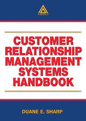 Customer Relationship Management Systems Handbook book cover