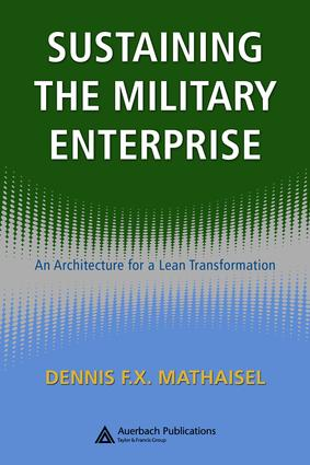 A Lean Enterprise Architecture for Military Sustainability