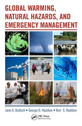 Global Warming, Natural Hazards, and Emergency Management book cover