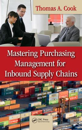 Mastering Purchasing Management for Inbound Supply Chains: 1st Edition (e-Book) book cover