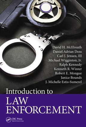 Introduction to Law Enforcement: 1st Edition (e-Book) book cover