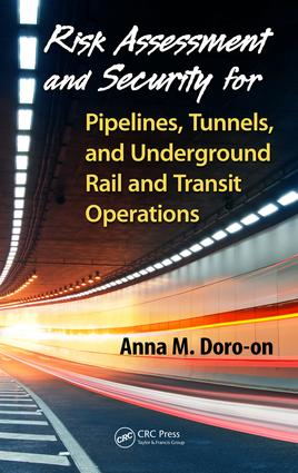 Quantitative Risk Estimation Model for Pipelines, Tunnels, Underground Rapid Rail, and Transit Systems