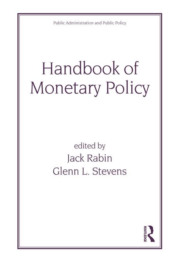 A Primer on Monetary Policy